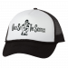 Uncle Si and the Sicotics White and Black Trucker Hat - Black Imprint