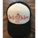 Uncle Si and the Sicotics White and Black Trucker Hat- Red Imprint